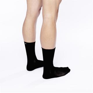"FINGERSCROSSED ""#001 Classic Black"" Socken"