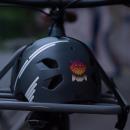 """REFLECTIVE BERLIN """"Owl"""" Reflektierender Sticker"""