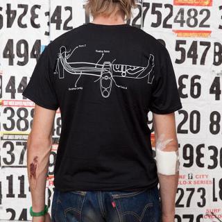 "CINELLI x MASH ""Integralter"" T-Shirt"
