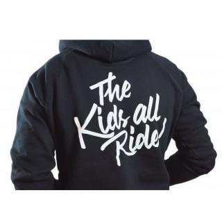 "AURORA ""The Kids All Ride"" Zippered Hoodie"