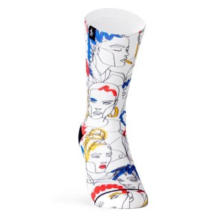 """PACIFIC & CO """"Street Faces"""" Socks"""