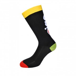 "CINELLI ""Ciao"" Socks Black"