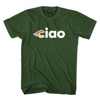"""CINELLI """"Ciao"""" Shirt Dunkelgrün"""