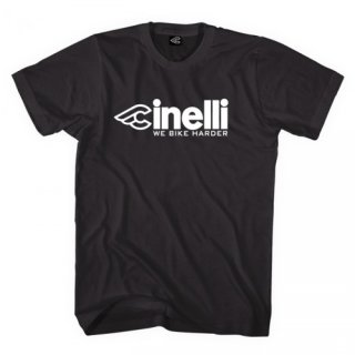 "CINELLI ""We Bike Harder"" Shirt"