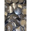"""BIKE PUNK """"Logo"""" Button - 4,3cm"""